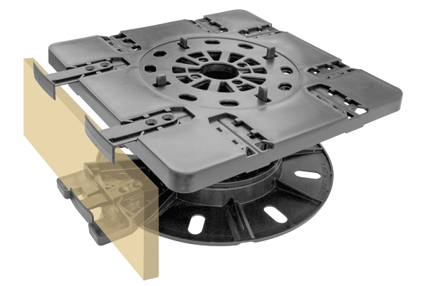 Side Mounting Plate Kit for StrataRise Pedestals